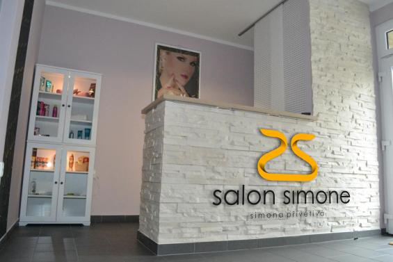Salon Simone - recepce